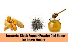 Turmeric+black pepper+honey