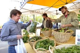 Farmers' Markets - a good place to shop